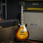 Gibson Les Paul Vox Marshall amps
