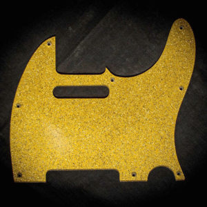 Di Renzo T-style scratchplate gold sparkle